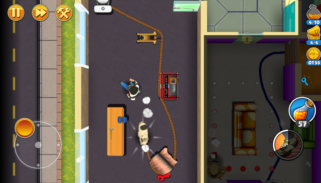 Level Eight Robbery Bob 2 Double Trouble